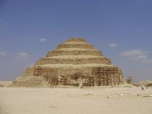 Piramida w Sakkara, Fot. M. Kazimierczak