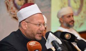 Wielki Mufti Egiptu Shawqi Allam. Photo: Ahram