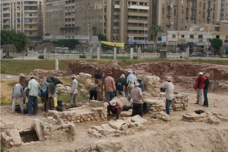 Prace na nekropoli (Fot. W. Jerke). Za: http://naukawpolsce.pap.pl/aktualnosci