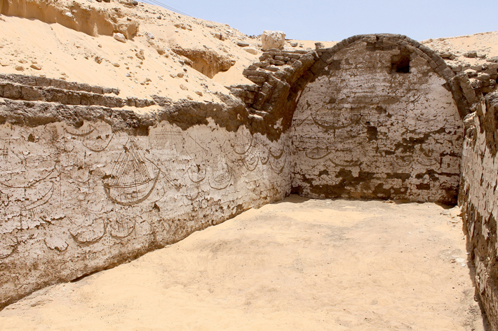 Kompleks grobowy w Abydos, foto: Courtesy Josef Wegner, źródło: Archaeology