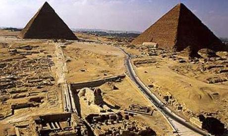 Stanowisko w Giza, źródło: Ahram